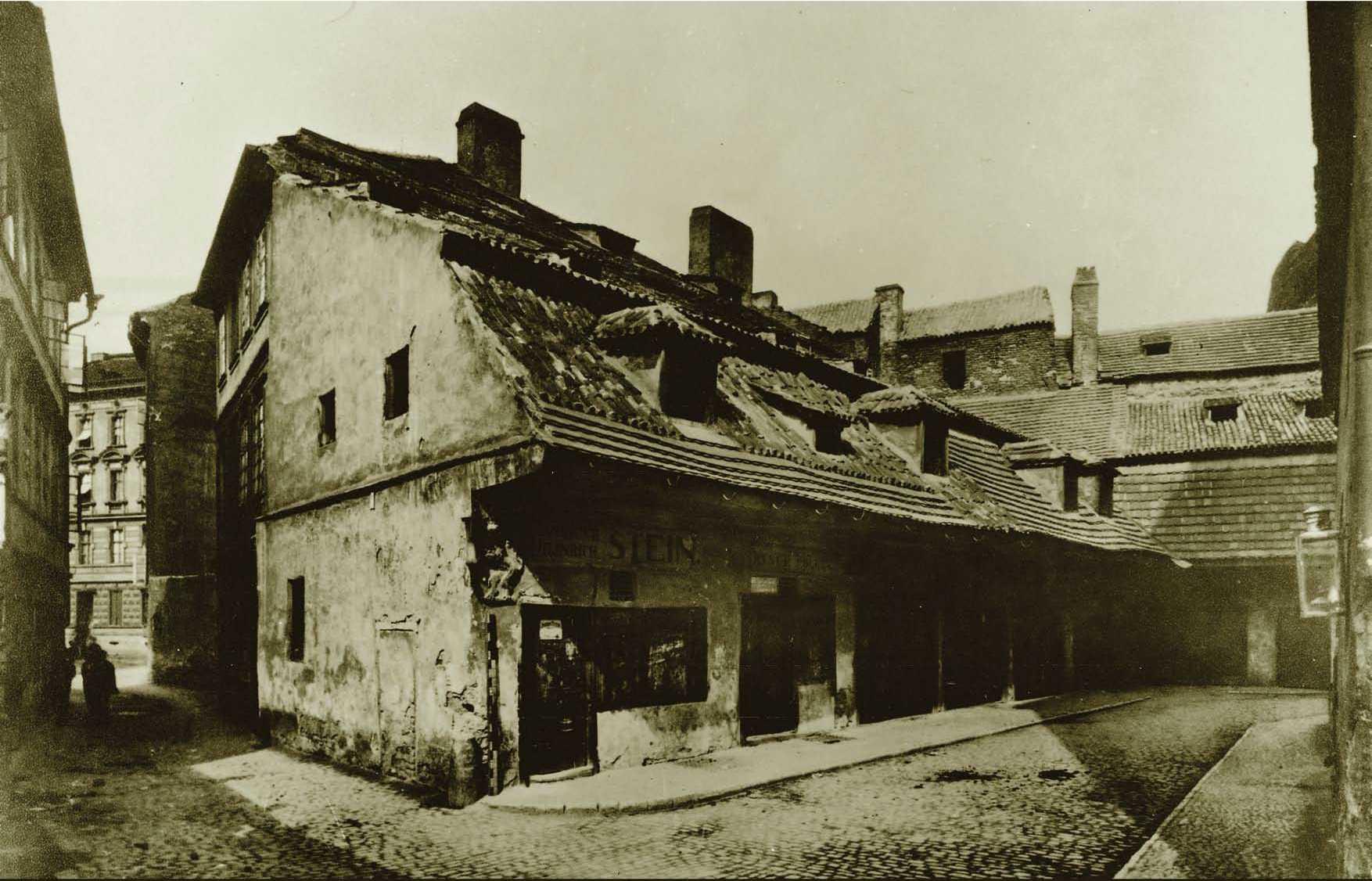 Staré řeznictví za Velkodvorskou synagogou