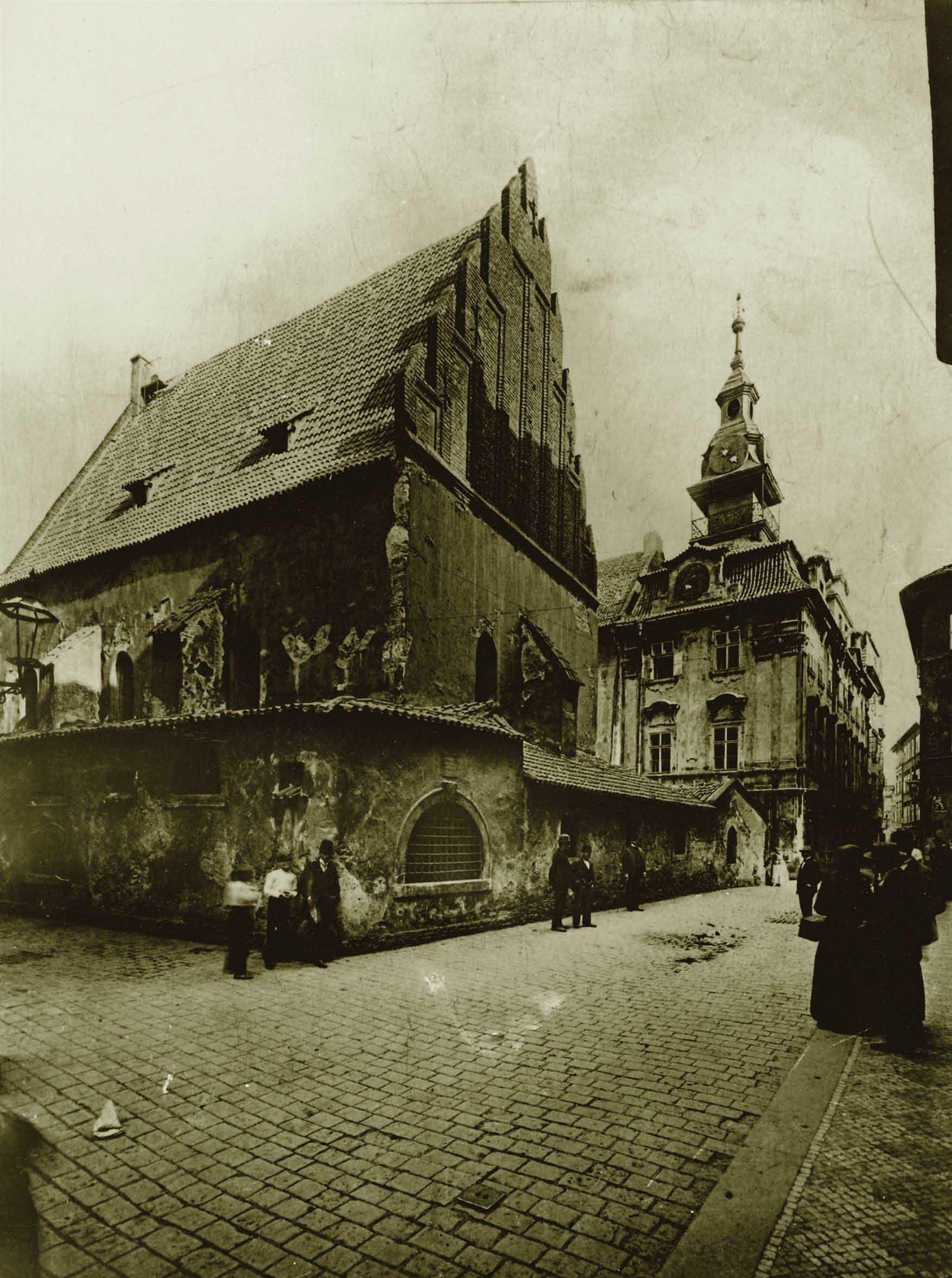 Staronová synagoga a židovská radnice