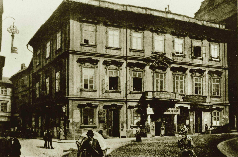House where Franz Kafka was born