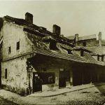 Alte Metzgerei hinter der Großenhof-Synagoge