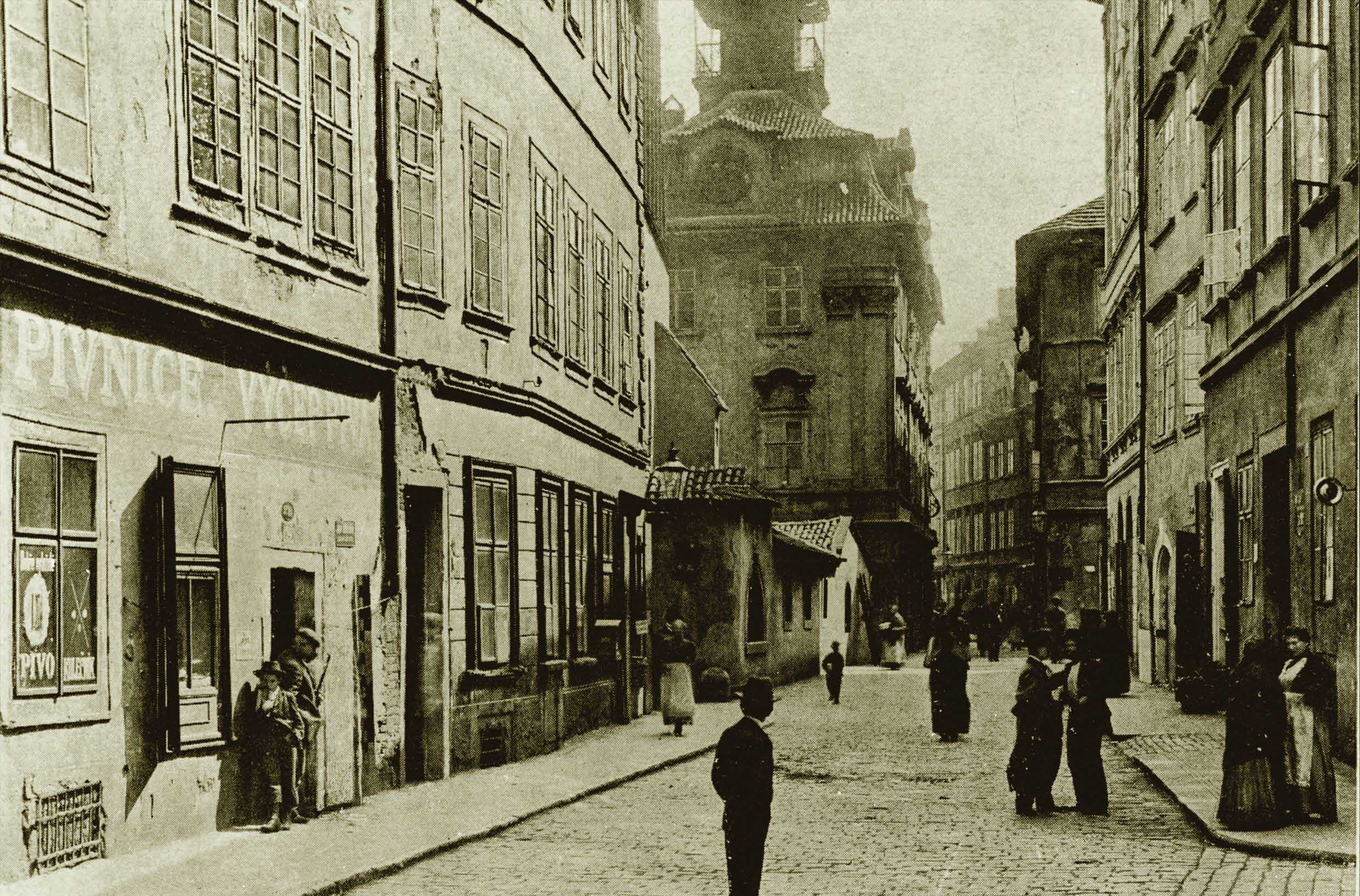 Rabínská Street, Old New Synagogue and the Jewish Town Hall