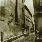 Maiselgasse, links die Maisel-Synagoge