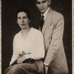 S Felice Bauerovou v Budapešti roku 1917.