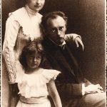 Franz Blei s rodinou