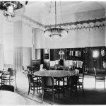 Pohled do hlavního sálu kavárny Arco (kolem roku 1907)