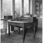 Pracovní stůl Franze Kafky