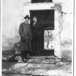 Franz Kafka und Ottla in Zürau, 1917