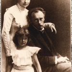 Franz Blei and his family