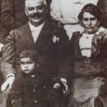Julie and Hermann, sister Elli and her husband Karel Hermann and their son Felix